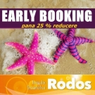 Early Booking <br> Rodos 2016